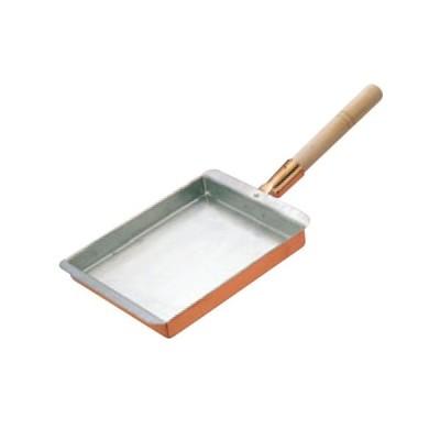 EBM 銅 玉子焼 関西型(スズ無し)10.5cm 幅112×奥行185(mm)/業務用/新品