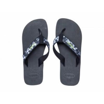 Havaianas ハワイアナス メンズ 男性用 シューズ 靴 サンダル Surf Material Sandal Black【送料無料】