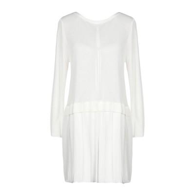 ANNA RACHELE JEANS COLLECTION ミニワンピース&ドレス ホワイト S レーヨン 92% / アセテート 6% / ポリエ