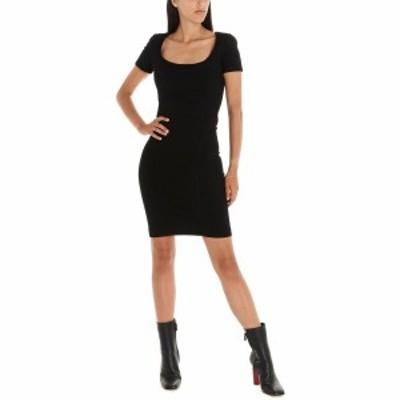 DSQUARED2/ディースクエアード Black   Compact jersey dress レディース 秋冬2019 S75CV0043S23138900 ju