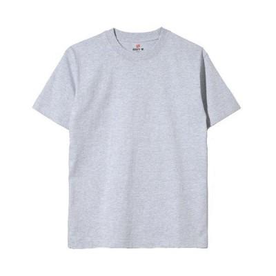 (ヘインズ) Hanes Tシャツ ビーフィー BEEFY H5180 060 ヘザーグレー XL