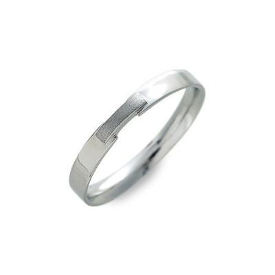 ホワイトゴールド リング 指輪 彼氏 記念日 ギフトラッピング ジュレドゥ 誕生日 送料無料 メンズ