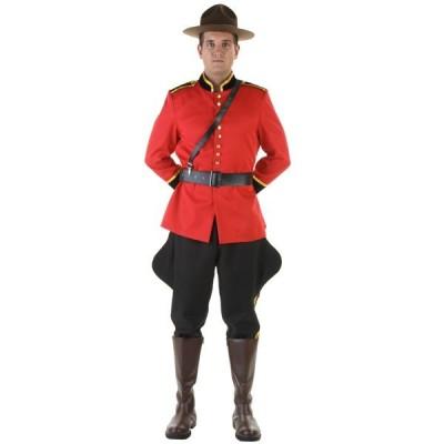カナダ 騎馬 警察 コスチューム ハロウィン コスプレ 舞台 演劇 イベント パーティー メンズ 大人