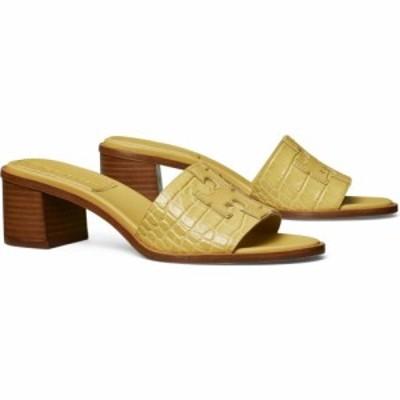 トリー バーチ TORY BURCH レディース サンダル・ミュール シャワーサンダル シューズ・靴 Ines Slide Sandal Light Yellow/Gold