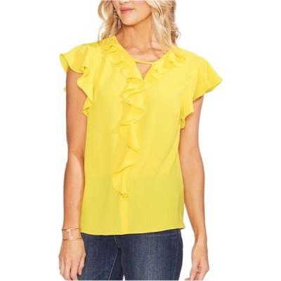 レディース 衣類 トップス Vince Camuto Womens Flutter Sleeve Pullover Blouse ブラウス&シャツ