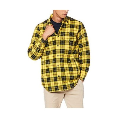 [フレッドペリー] 長袖シャツ Quilted Tartan Shirt F2605 メンズ 16_YELLOW UK L (日本サイズXL相当)