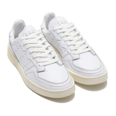 アディダスオリジナルス adidas Originals スニーカー スーパーコート (RUNNING WHITE/RUNNING WHITE/OFF WHITE) 19FW-S