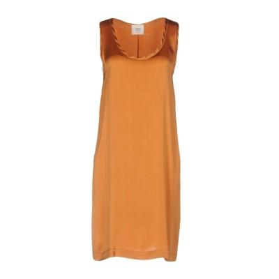 ジャッカ JUCCA ミニワンピース&ドレス 赤茶色 46 シルク 94% / ポリウレタン 6% ミニワンピース&ドレス