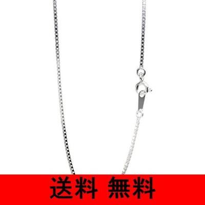 新宿銀の蔵 シルバー ベネチアンチェーン 長さ40〜80cm (50cm) 幅1.2mm シルバー 925 ネックレス チェーン ネックレスチェーン