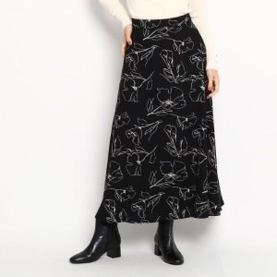 エージー バイ アクアガール(AG by aquagirl)/花柄Aラインスカート