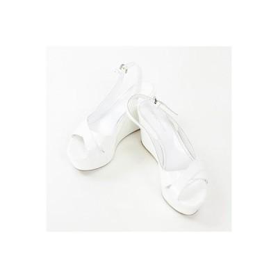 セルジオロッシ(sergio rossi)白サンダル35 1/2