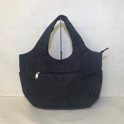 バッグ カバン 鞄 レディース 小さく折りたためる A4対応トートバッグ カラー ブラック