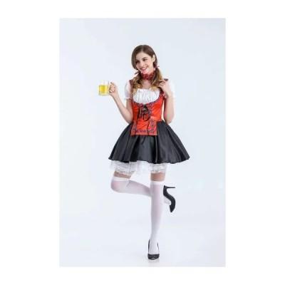 あす楽コスプレ 仮装 ビールガール ドイツ メイド 民族衣装 海賊 カリブ ビールガール ビールガール ドイツ 民族衣装 メイド ディアンドル チロリアン パ…