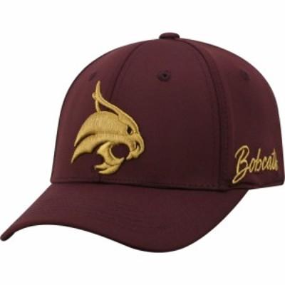 トップオブザワールド Top of the World メンズ キャップ 帽子 Texas State Bobcats Maroon Phenom 1Fit Flex Hat