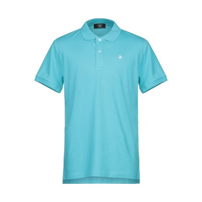 BEVERLY HILLS POLO CLUB ポロシャツ ターコイズブルー XXL コットン 97% / ポリウレタン 3% ポロシャツ