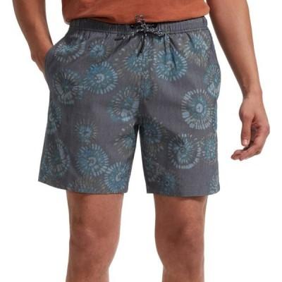 トードアンドコー Toad & Co メンズ ショートパンツ ボトムス・パンツ Boundless Pull-On Shorts True Navy Tie Dye Print