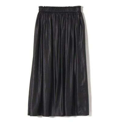 【シップス ウィメン】チンツギャザースカート