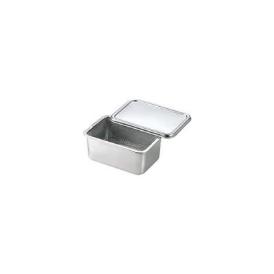 kan豆腐水切カゴセット蓋付ツル無 CD:038059