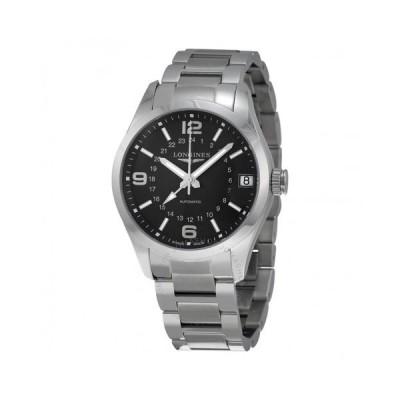 Longines/ロンジン メンズ 腕時計 Conquest Classic Eddie Peng Black Dial 自動巻き GMT メンズ Watch L27994566