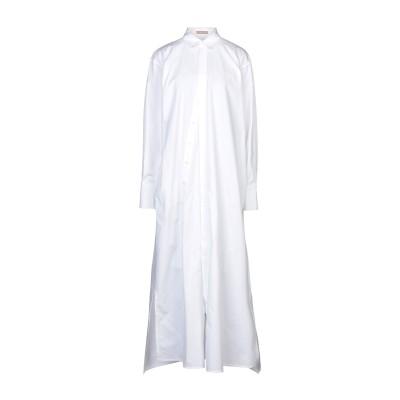 ネヘラ NEHERA ロングワンピース&ドレス ホワイト 38 コットン ロングワンピース&ドレス