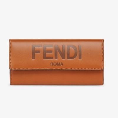 フェンディ FENDI コンチネンタル財布(8M0251AAYZF0QVK)ブラウンレザー 財布