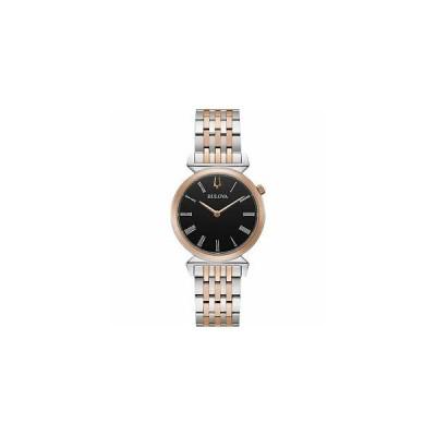 ブローバ Bulova 腕時計 おしゃれ レア 98L265 Regatta Two Tone Wristwatch