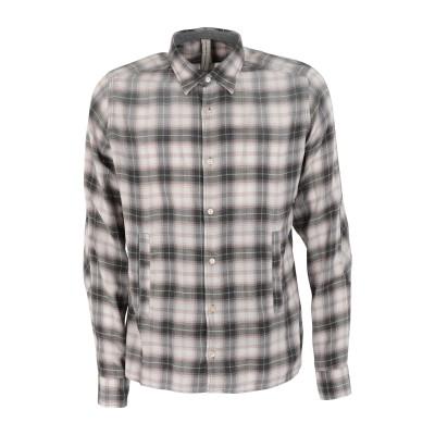 DNL シャツ ライトグレー 40 コットン 100% シャツ