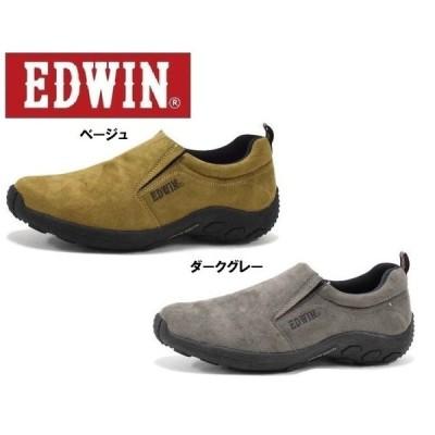 EDWIN エドウィン EDW7031 メンズスニーカー スリッポン 低反発インソール