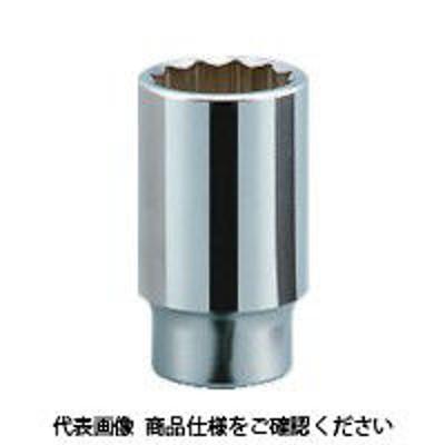 京都機械工具京都機械工具 KTC 19.0sq.ディープソケット(十二角) 38mm B45-38 1個 383-4344(直送品)