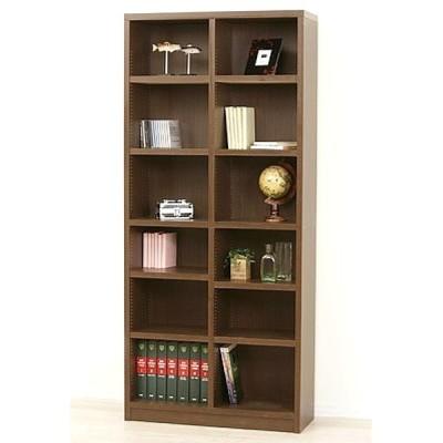 強化棚ブックシェルフ W80×D29×H180 本棚