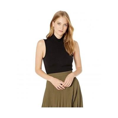 Sanctuary サンクチュアリ レディース 女性用 ファッション セーター Essential Sleeveless Mock Neck - Black