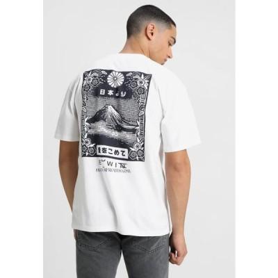 エドウィン メンズ ファッション FROM FUJI - Print T-shirt - white