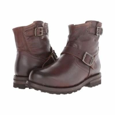 フライ ブーツ Warren Engineer Blazer Brown Tumbled Leather/Shearling