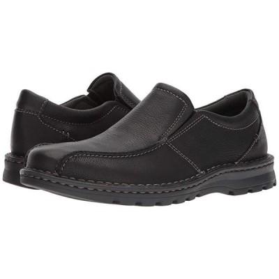 クラークス Vanek Step メンズ ローファー Black Oily Leather