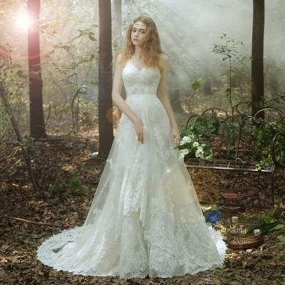 ウェディングドレス マーメイドライン ウエディングドレス 安い 花嫁 ロングドレス 披露宴 マーメイドドレス 結婚式 エンパイア 二次会 ブライダル wedding