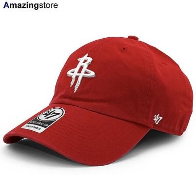 47ブランド ヒューストン ロケッツ 【NBA CLEAN UP STRAPBACK CAP/RED】 47BRAND HOUSTON ROCKETS