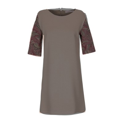 VERYSIMPLE ミニワンピース&ドレス サンド 42 レーヨン 56% / ポリエステル 40% / ポリウレタン 4% ミニワンピース&ドレス