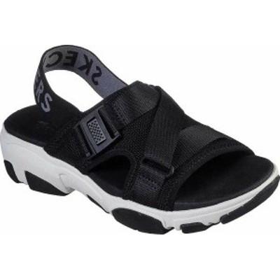 スケッチャーズ レディース サンダル シューズ Daddy-O Dibs Slingback Sport Sandal Black