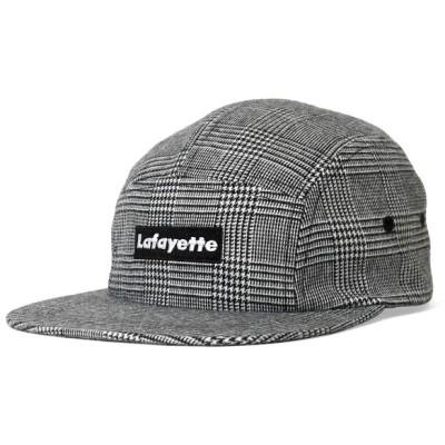 ラファイエット Lafayette SMALL LOGO CHECK JET CAP ジェットキャップ LS201407 GRAY グレー