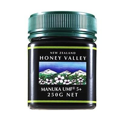 アクティブマヌカハニー UMF5+ 250g ハニーバレー(100% Pure New Zealand Honey)マヌカ蜂蜜 MGO83以上