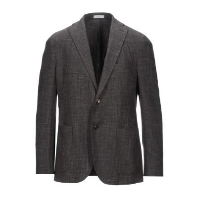ボリオリ BOGLIOLI テーラードジャケット ダークブラウン 50 バージンウール 65% / ナイロン 22% / リネン 13% テーラード
