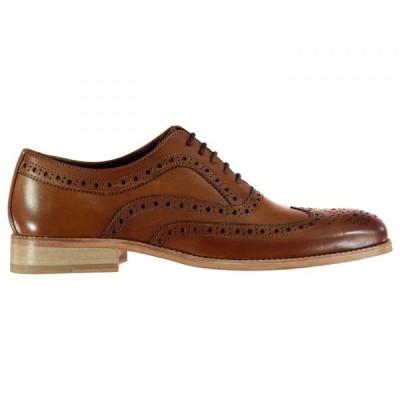 ファイヤートラップ Firetrap メンズ 革靴・ビジネスシューズ ブローグ シューズ・靴 Blackseal Somerset Brogues Tan