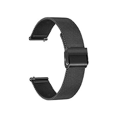 輸入商品 TRUMiRR バンド Amazfit GTS/GTS 2e / GTS 2 スマートウォッチ用 メッシュ織 ステンレススチール 腕時計バンド クイッ 人気商品