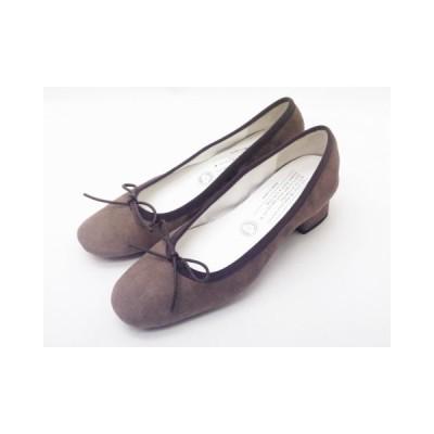 トラベルシューズバイショセ TR-015SK ダークグレー Ladies' 靴 シルキースエード パンプス