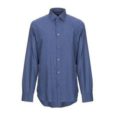 ポール・スミス PAUL SMITH シャツ ダークブルー 17 ½ コットン 100% シャツ