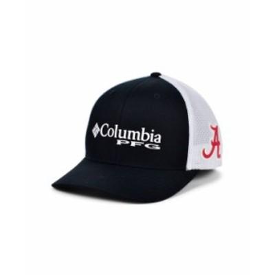 コロンビア メンズ 帽子 アクセサリー Alabama Crimson Tide PFG Trucker Cap Black