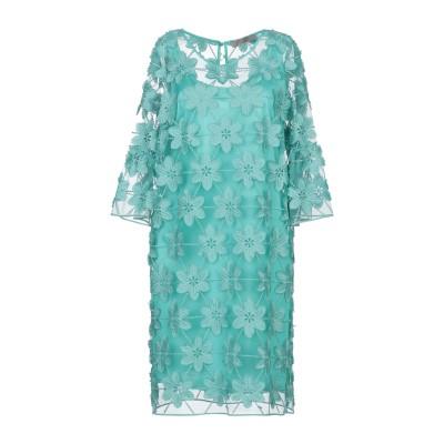 D.EXTERIOR ミニワンピース&ドレス ターコイズブルー 40 ポリエステル 100% ミニワンピース&ドレス