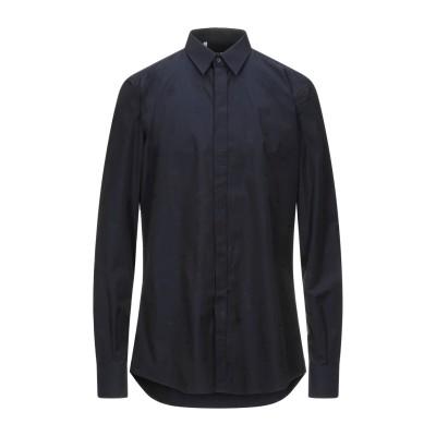 ドルチェ & ガッバーナ DOLCE & GABBANA シャツ ダークブルー 37 紡績繊維 シャツ