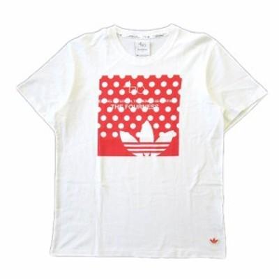【中古】美品 アディダスオリジナルス adidas originals × ザフォーネス The Fourness  ロゴ プリント Tシャツ ♪3