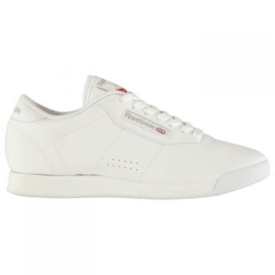 リーボック Reebok レディース スニーカー シューズ・靴 Princess Trainers White